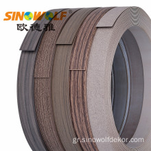 PVC σειρά Super Matt Edge Banding Series