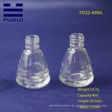 Neue Art leere Nagellack-Glasflasche Großverkauf