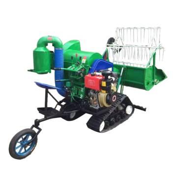 Precio de la máquina cosechadora de arroz Mini cosechadora