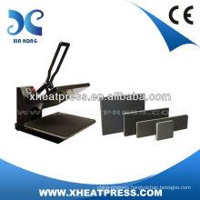 CE Approved Clamshell custom tshirt logo dye heat transfer machine transfer press machine