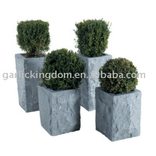 Kalkstein-Garten-Topf