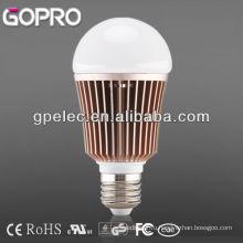 Высокая мощность E27 светодиодные лампы 7W