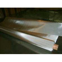 Acoplamiento de alambre tejido llano del acero inoxidable