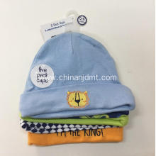 Newborn Baby Boys' Caps 5-Pack 0-6 months