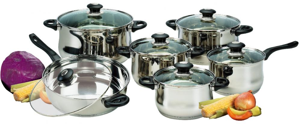 Cookware Set With Bakelite Handles