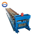 Metal Ridge Cap Corrugated Aluminium Sheet Machine