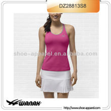 Flexibility built in bra women teinnis wear wholesale price