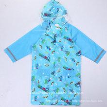 Großhandelsneue Entwurfs-preiswerte Jungen-Regenmantel