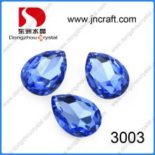 Fancy Crystal Glass Beads Stones Teardrop Jewelry Beads
