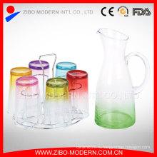 Поощрительная фабрика Оптовая цветная посуда