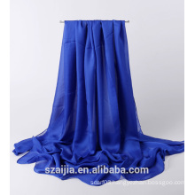 Ladies solid chiffon shawl
