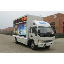 JAC 4 * 2 caminhão de publicidade LED móvel