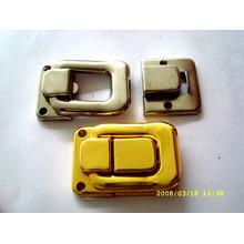 Fermetures en fer forgé en métal promotionnel à Shenzhen Factory