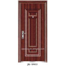 double door leaf extra security door