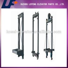 Elevator components elevator car frame design/elevator car frame