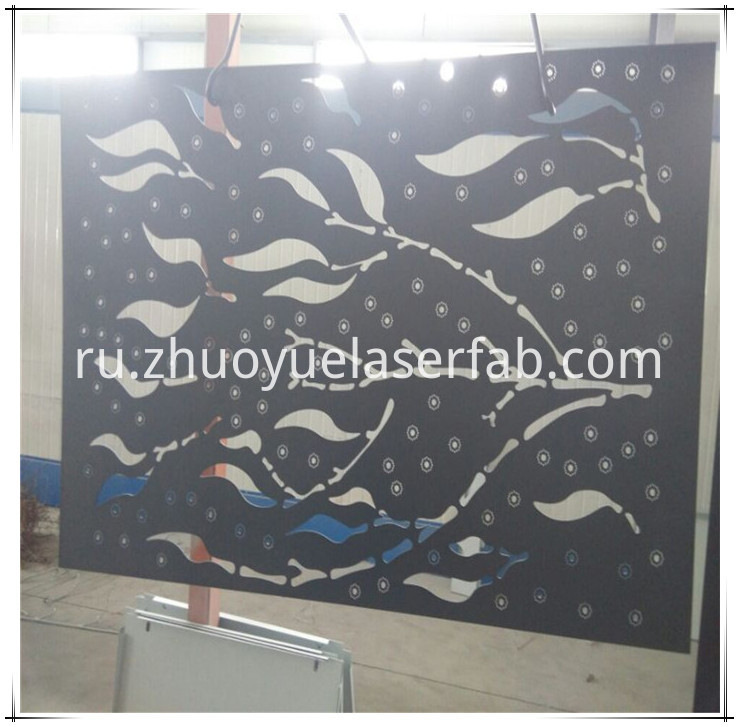powder coating metal screen