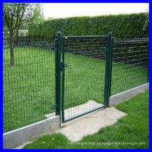 Puerta de patio de metal (fabricante y exportador)