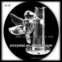 Bonita estatuilla de cristal animal A113