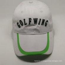 Индивидуальная кепка для гольфа в полиэфире