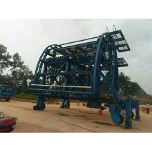 Carro de revestimiento de túnel de encofrado de acero de construcción