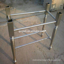 casting iron table leg with polishing process