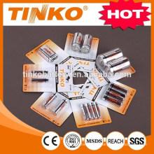 Kohlenstoff-Zink-Batterie r20p mit Alufolie Jacke