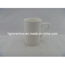 Caneca da porcelana de osso fino de 10 onças, caneca da cerâmica