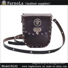 Mini Leather Briefcase /Men Bags/Cross Body Bag (NL-02)