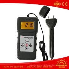 Medidor de umidade do analisador de umidade de porta de madeira para madeira
