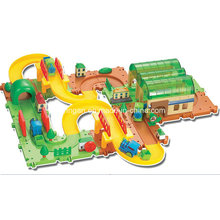 Spur Spielzeug Blöcke Züge Set Spielzeug