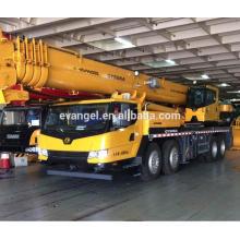 Best sale dump truck with crane price list QY50KA moible crane
