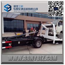 Isuzu 9 Ton Full Landing caminhão de recuperação de mesa