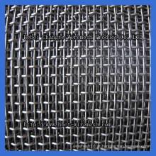 Malha de arame ondulado de aço galvanizado