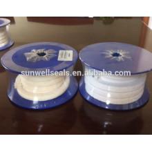 PTFE trançado embalagem / óleo / sem óleo / pura PTFE fios (SUNWELL)