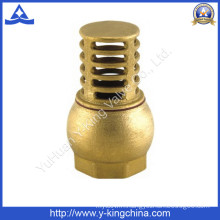 "1/2""-3"" Forged Brass Water Foot Valve for Water (YD-3004)"