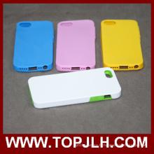 3D PC + Sublimation téléphone TPU pour iPhone 5/5 s