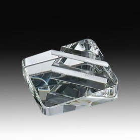 Crystal Desk Namecard holder