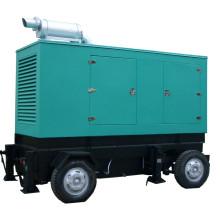 1MW-50MW Diesel Gas Hfo Eletricidade de combustível Central de energia móvel
