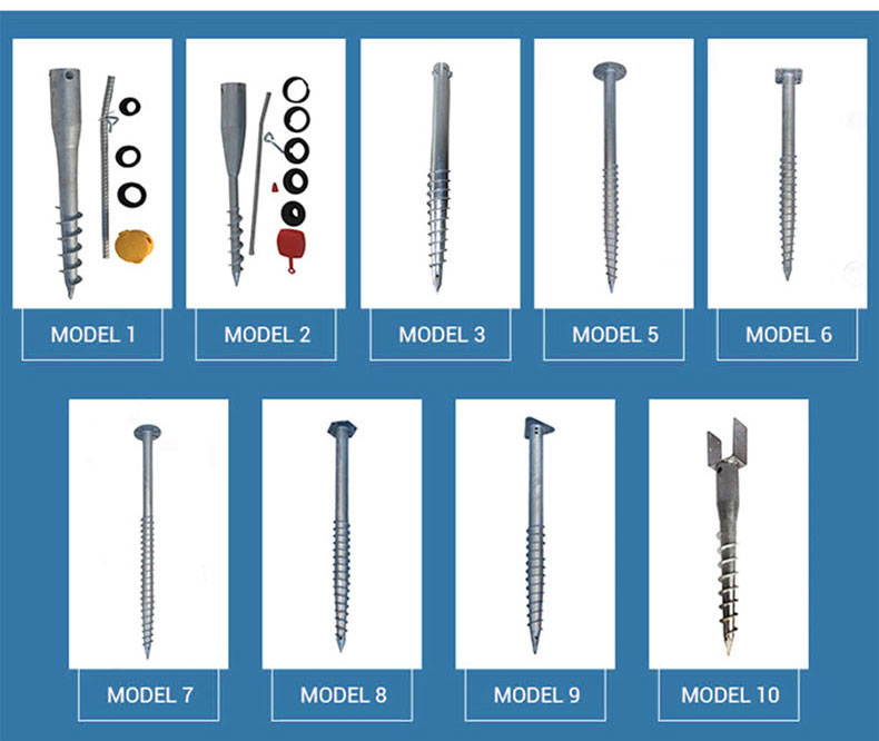 Types Of Screw Anchors