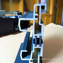 Profilé d'extrusion industriel en aluminium 2218