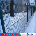 Green PVC Coated 3D Folds Wire Mesh Fence