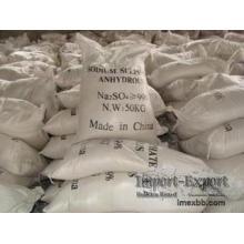 Pureza 99% sulfato de sodio anhidro, pH6-8 Na2so4