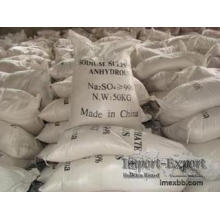 Purity 99% Anhydrous Sodium Sulphate, pH6-8 Na2so4
