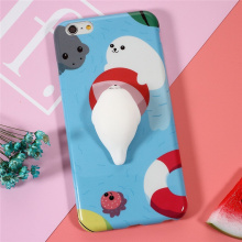 Cassa del telefono in silicone morbido 3D Cute cartoon