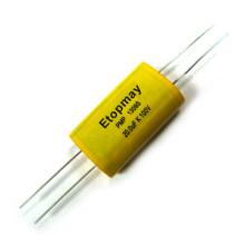 Tipo 1.8WF 1.8VF axial capacitor metalizado do filme de poliéster de 10V --- Topmay