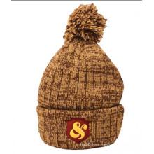 Sombrero mezclado de la gorrita tejida cabido (XT-B046)