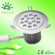 Produits haute qualité dc12v 24v ac 100v encastré 15w conduit vers le bas de la lumière