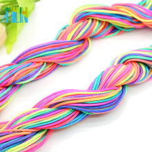 Jade Braided Cord, Chinese Knot Line Wire String for Making Jewelry 1.0mm and 1.2mm, ZYL0016