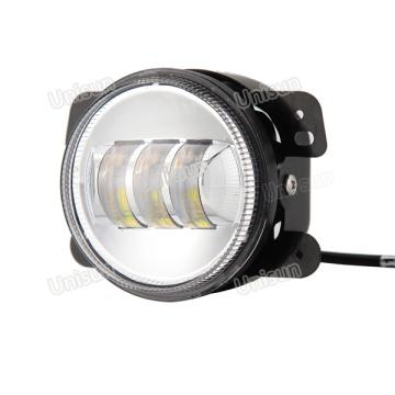 Unisun 4 pulgadas 18W 12V LED Faro de motocicleta
