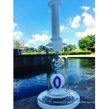 Weiß Jade 14inch Höhe Borosilikat Pyrex Wasser Glaspfeife mit Großhandelspreis